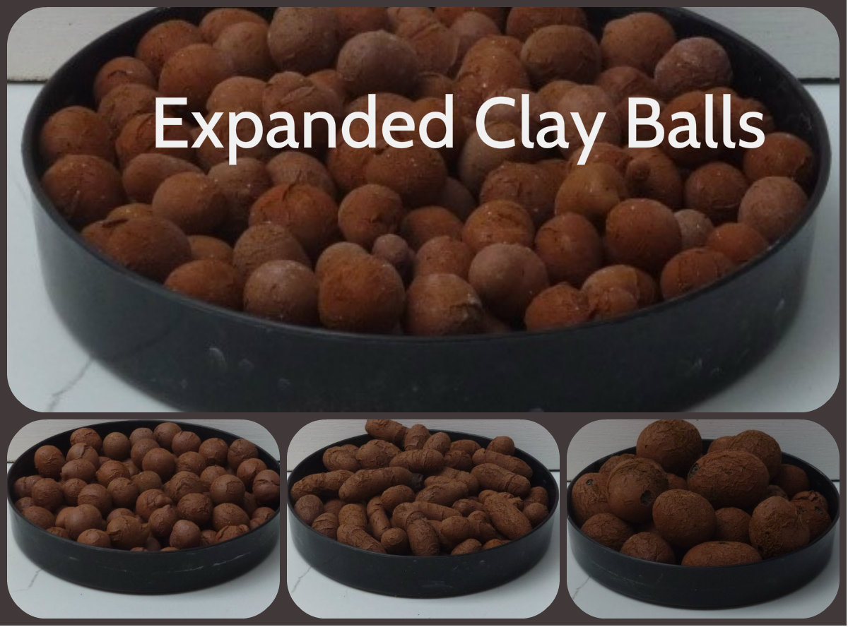 three sizes balls